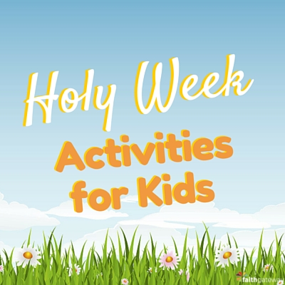 Holy Week Craft Ideas