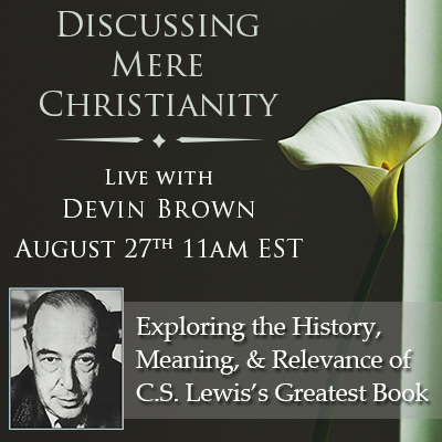 what is the thesis of mere christianity Free essay: in cs lewis' book mere christianity, the obstinate toy soldier is a chapter with good points lewis takes his reader step by step through this.