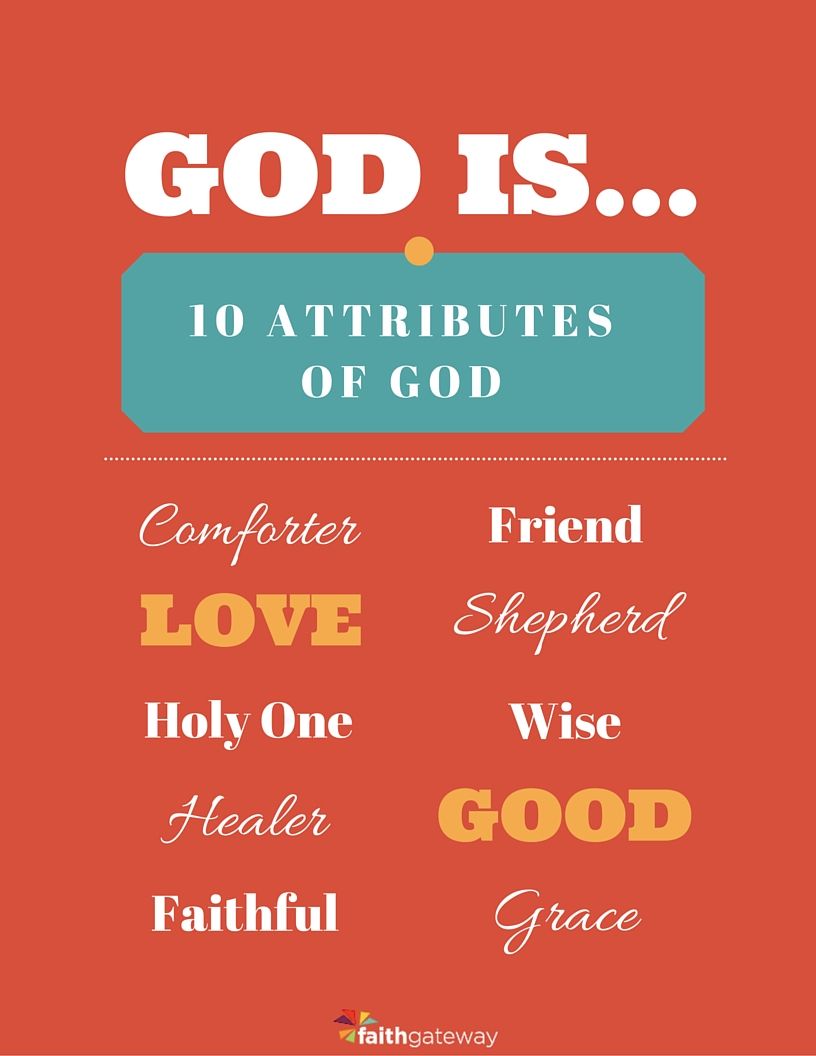 Dashing image pertaining to printable attributes of god