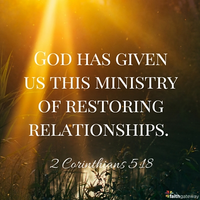 Bible Quotes About Relationships Mesmerizing Fellowship 7 Steps To Restoring Broken Relationships  Faithgateway