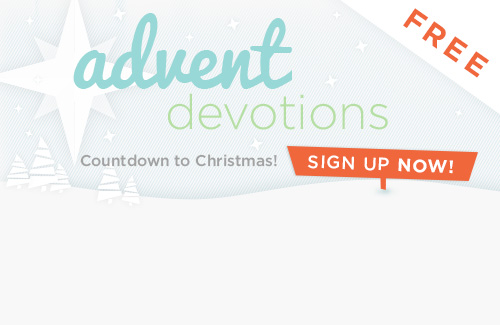 free advent devotional slider