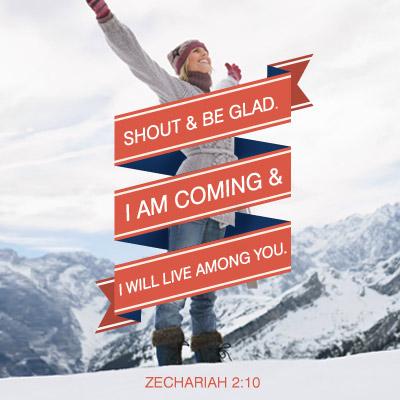 Zachariah 2:10