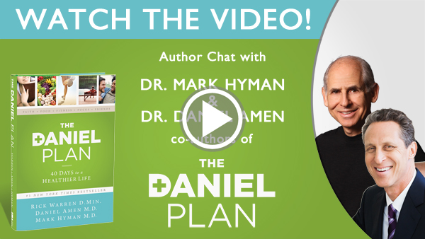 video daniel plan author chat