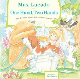 One hand, two hands book cover on spring craft for kids be the hands of God blog