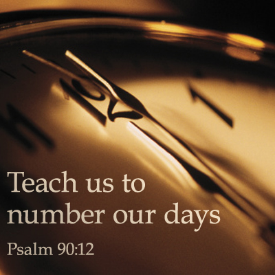 psalm 90 number our days