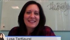 Lysa TerKeurst author chat video