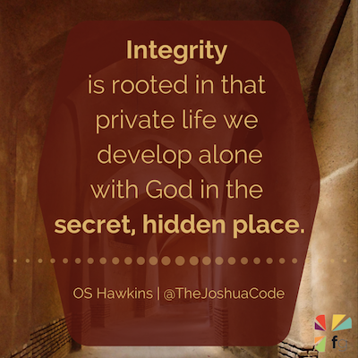 Bible study on integrity