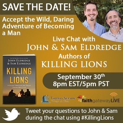 Killing Lions And The Quest For Manhood Faithgateway