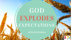 God Explodes Expectations Quote