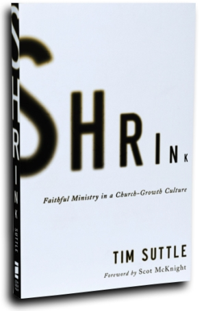 Shrink book cover Tim Suttle