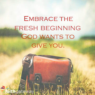 Happy New Year! A Fresh Beginning - FaithGateway