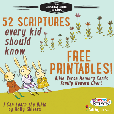 scripture memorization for kids printable free