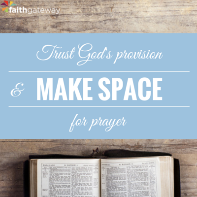 Desperation, Cold Pizza, and Fasting - FaithGateway