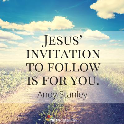 jesus said follow me faithgateway