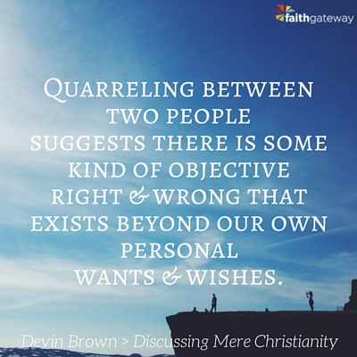 christianity quotes Mere