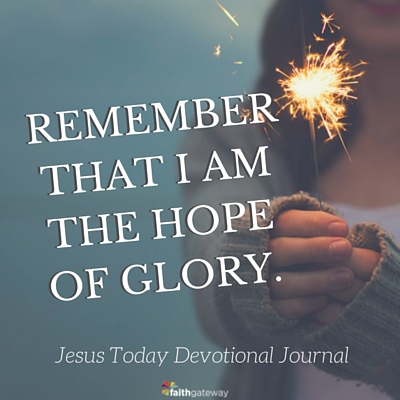 Hope for the New Year: The Hope of Glory - FaithGateway