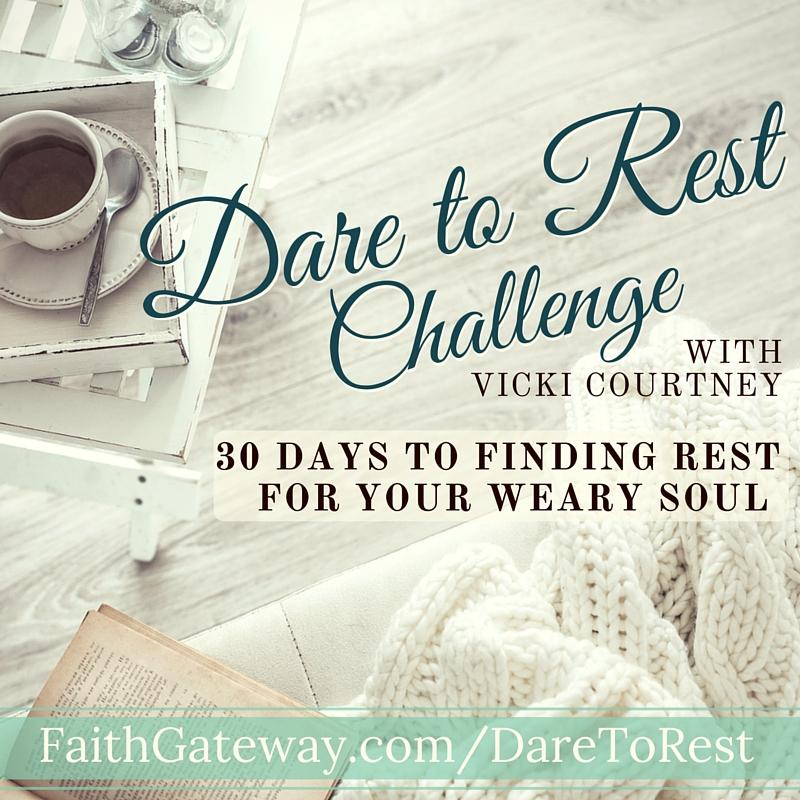 Dare to Rest Challenge 800x800