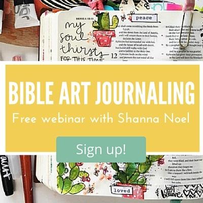 Bible Art Journaling How to