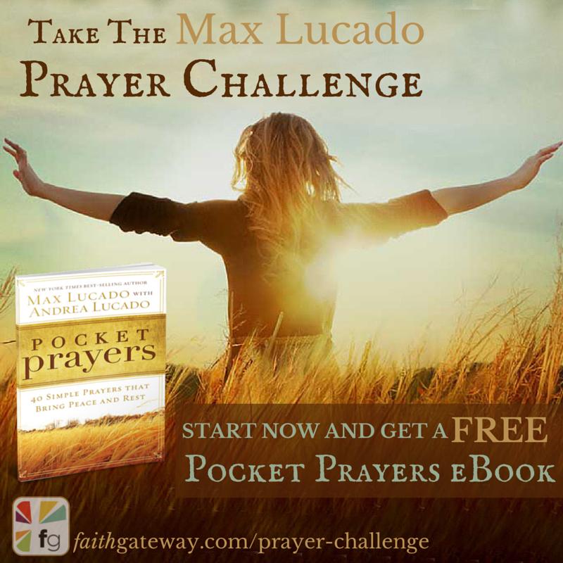 Prayer Challenge Max Lucado