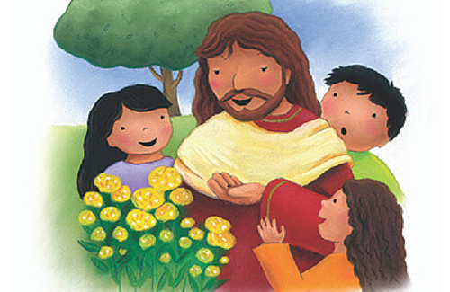help children fall in love with Jesus